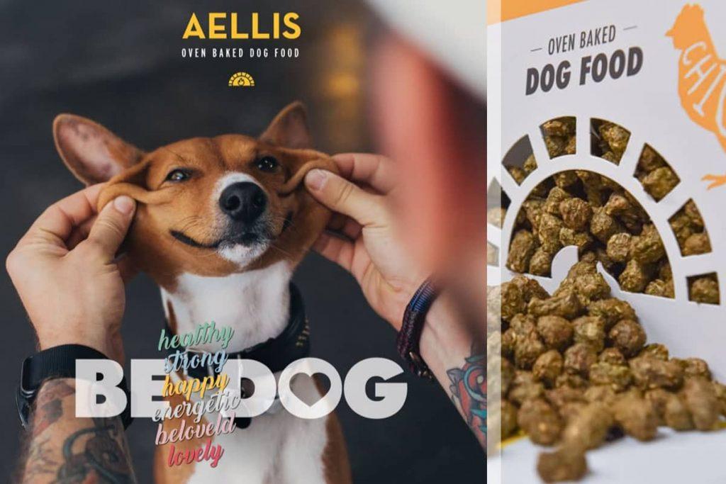 Aellis ελληνική ξηρά τροφή σκύλου